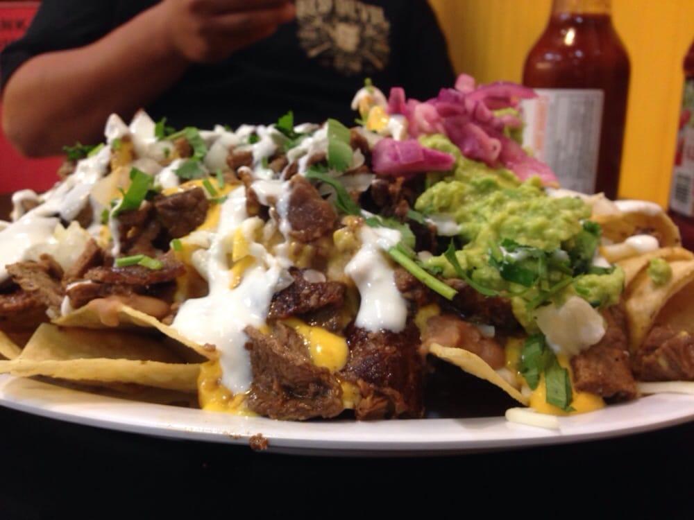 Nachos Mexicanos de asada - Yelp