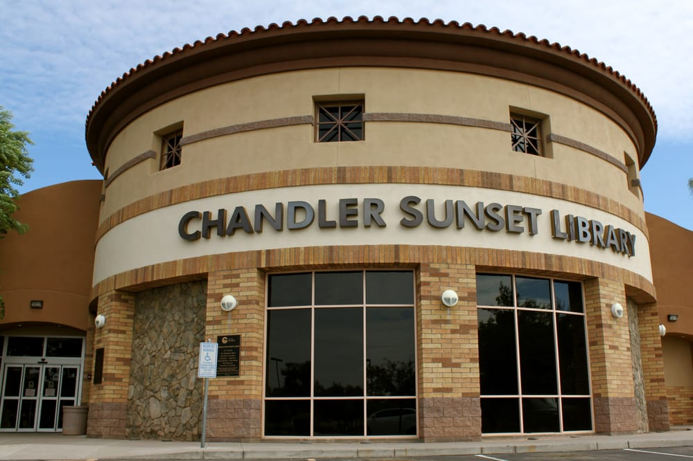 Chandler Public Library - Sunset