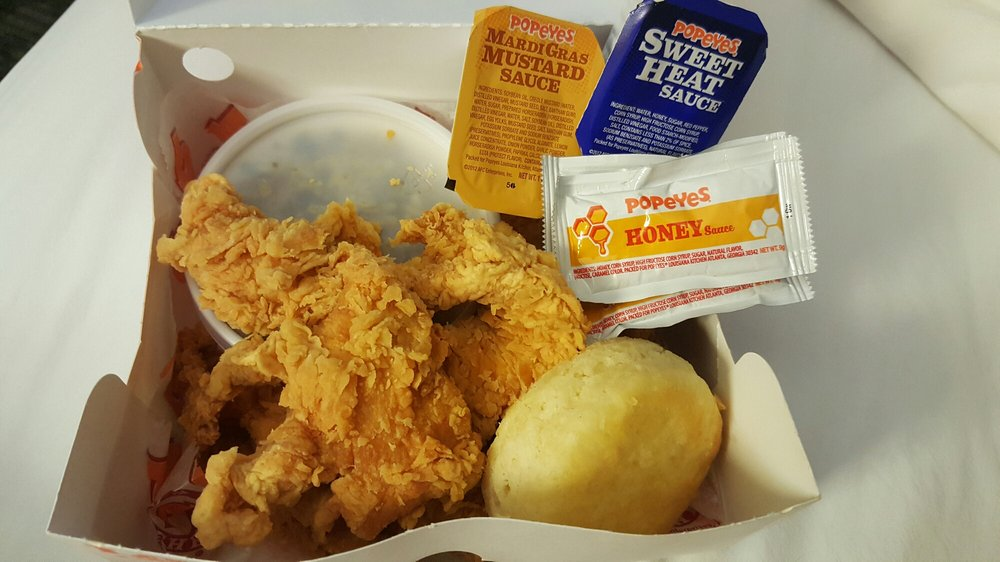 5 Piece Chicken Tender Meal With Cajun Rice Yelp