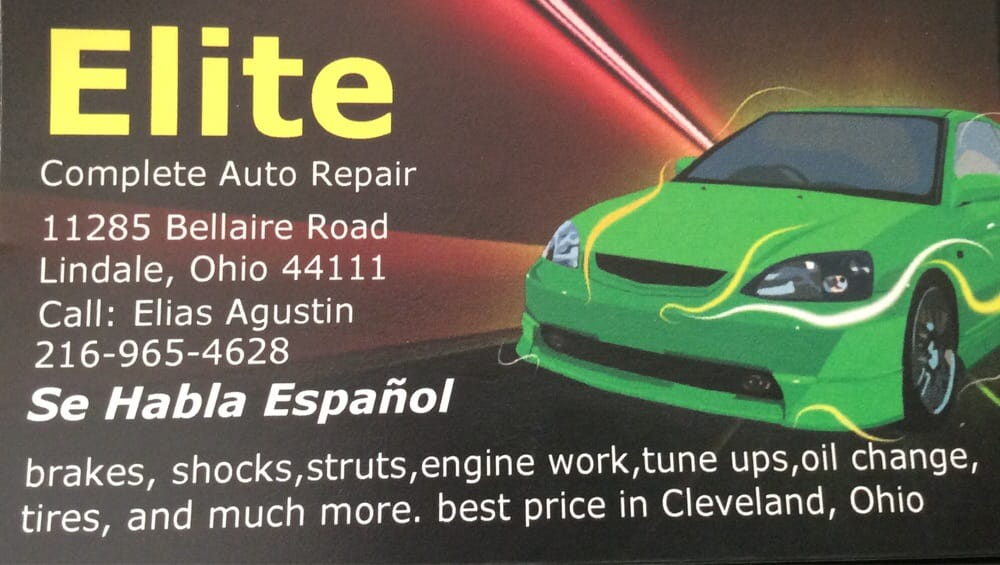Elite Complete Auto Repair Bilreparation 11285