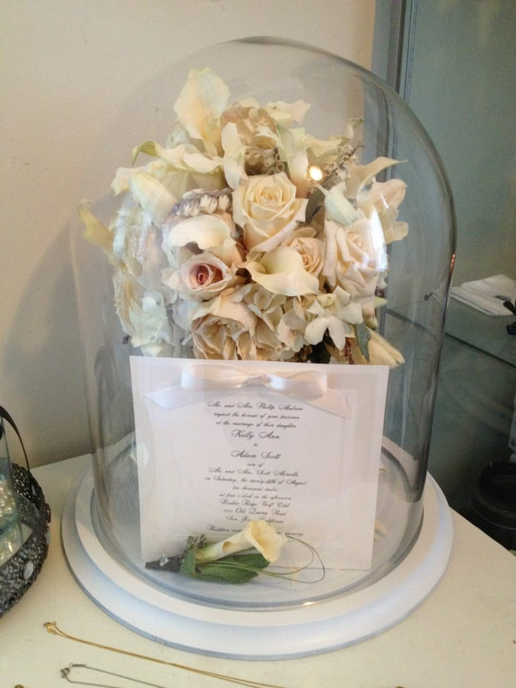 Beautiful Wedding Bouquet Shadowbox From Shanels Yelp