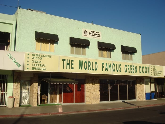 Best Then Photo Of The Green Door   Las Vegas, NV, United States ...