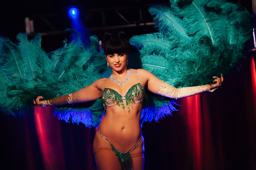 Elegant Photo Of The Ruby Revue Burlesque Show   Dallas, TX, United States. Ginger