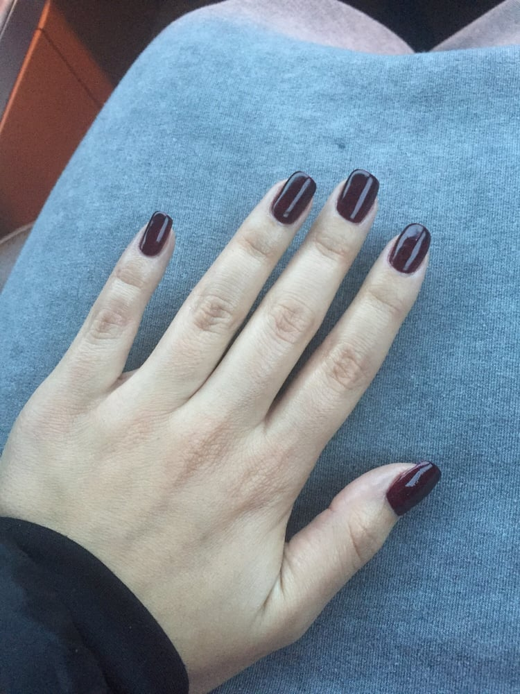 Color changing nail polish. So cool!!! Turns into a bright red when ...
