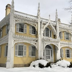 The Wedding Cake House Landmarks Historical Buildings 105