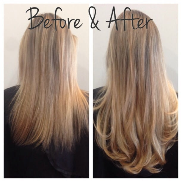 One Track With 4 Pieces Of Hand Tied Bohyme Hair Yelp