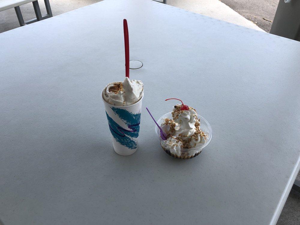Norma Jean's Ice Cream: 302 E Water St, Borden, IN
