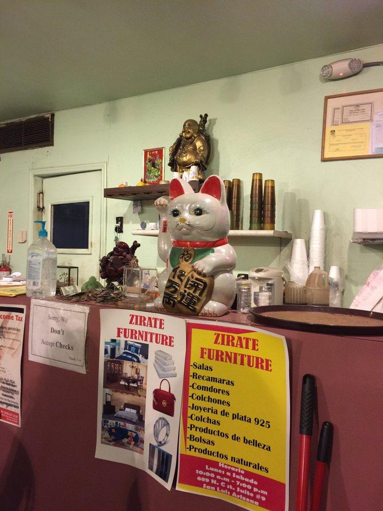 Li-S Restaurant: 647 N Main St, San Luis, AZ