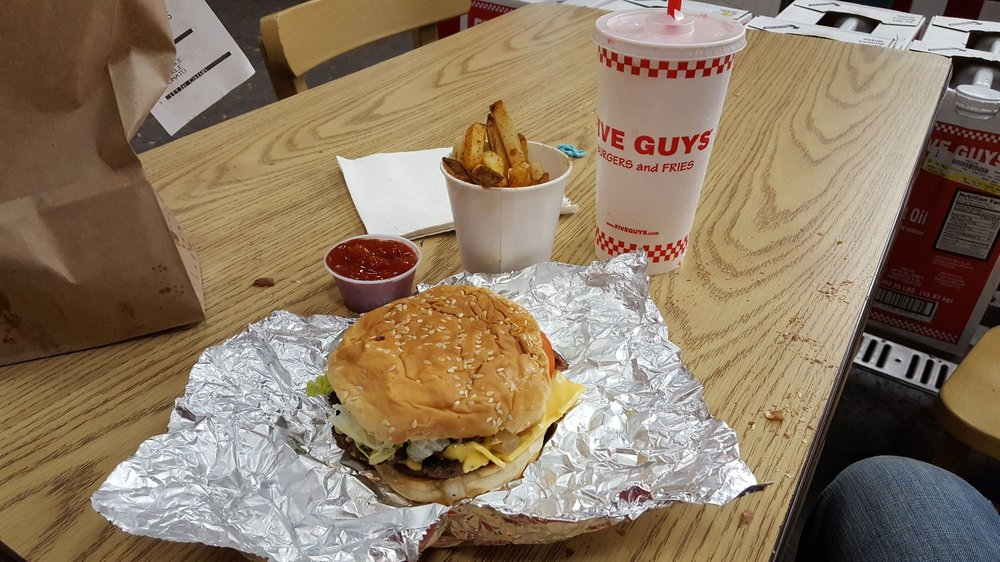 Five Guys: 508 Monroe St, Detroit, MI