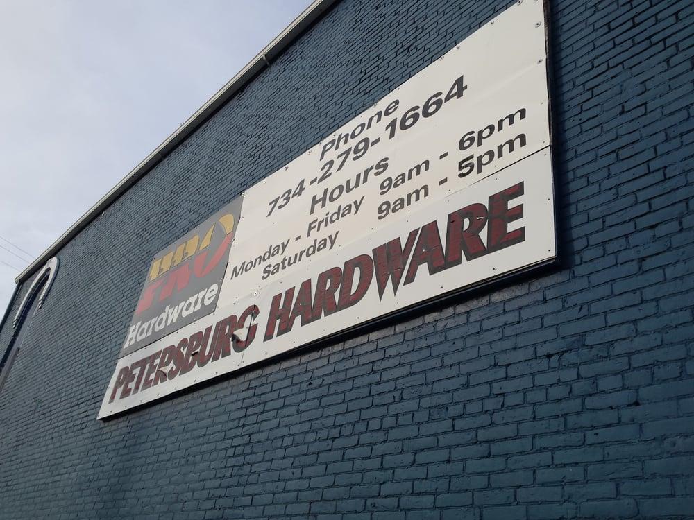 petersburg hardware ferm magasins de bricolage 64 saline st petersburg mi tats unis. Black Bedroom Furniture Sets. Home Design Ideas
