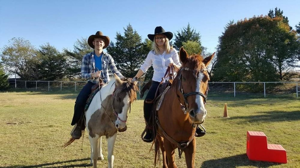 Manna Ranch Trail Rides: 4430 N US Hwy 287, Alvord, TX