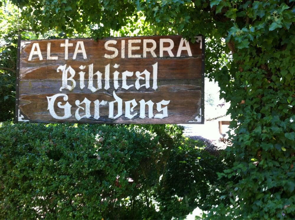 Alta Sierra Biblical Gardens - Parks - Grass Valley, CA ...