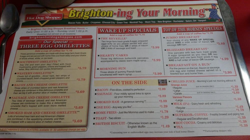 Brighton Hot Dog Shoppe  State St Beaver Pa