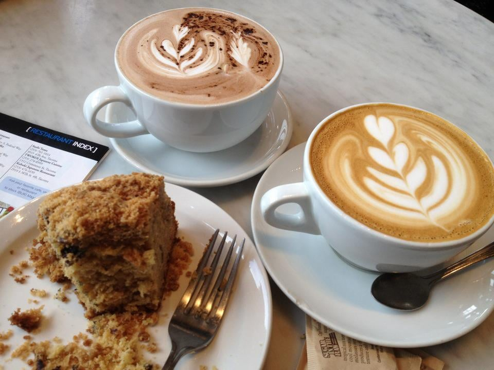 Cake Art Company Kirkland : Caramel Latte, Hot Chocolate and a Coffee Cake... at Zoka ...