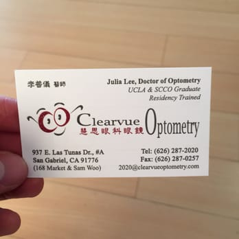 Clearvue optometry 24 reviews optometrists 937 e las tunas dr photo of clearvue optometry san gabriel ca united states top notch care colourmoves