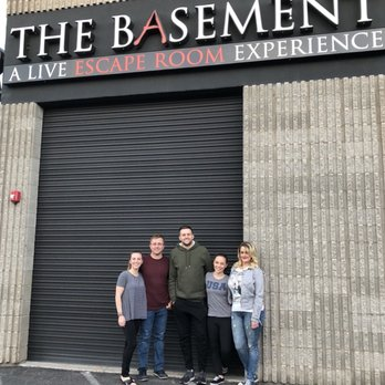 The Basement A Live Escape Room Experience 44 Photos