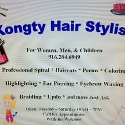 Kongty Hair Stylist - CLOSED - Hair Salons - 5622 Watt Ave, North ...