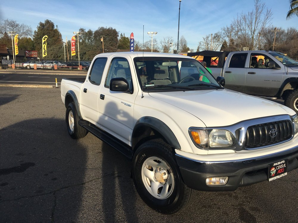 Central Auto Sales >> Sweet 2003 Toyota Tacoma Crew Cab With A Clean Interior Low Mileage
