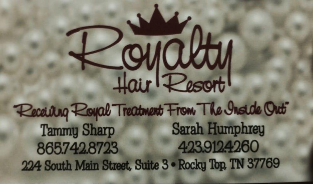Royalty Hair Resort: 224 N Main St, Lake City, TN