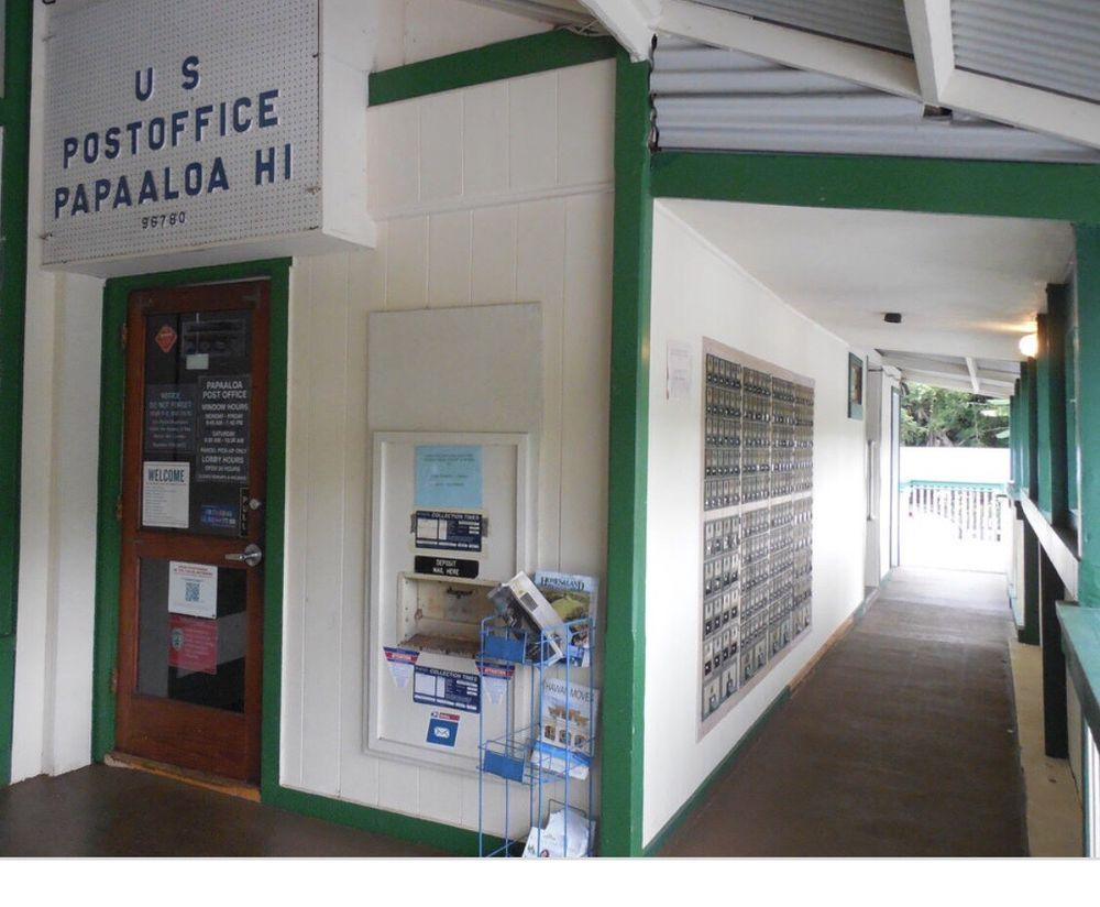 US Post Office: 35-2032 Old Mamalahoa Hwy, Papaaloa, HI