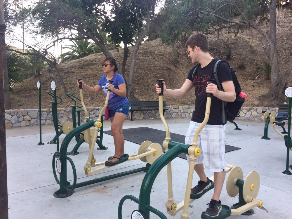 Kid's Park & Fit Trail: 401 Avalon Cyn Rd, Avalon, CA
