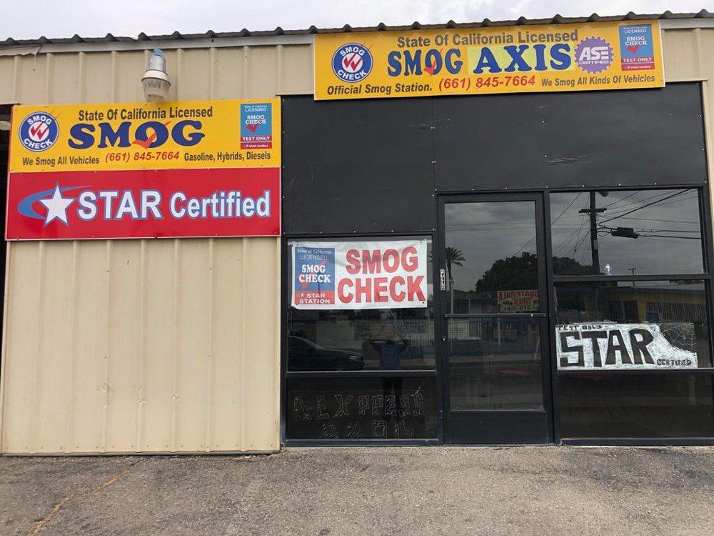 Smog Axis: 10011 Main St, Lamont, CA