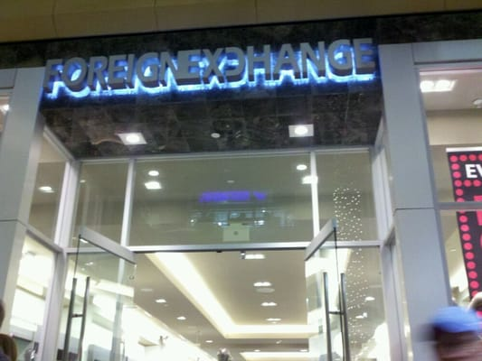 Foreign exchange clothing store in san francisco