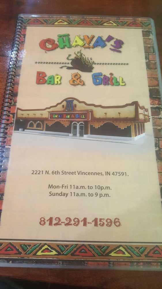 Chavas Bar and Grill: 2221 N 6th St, Vincennes, IN
