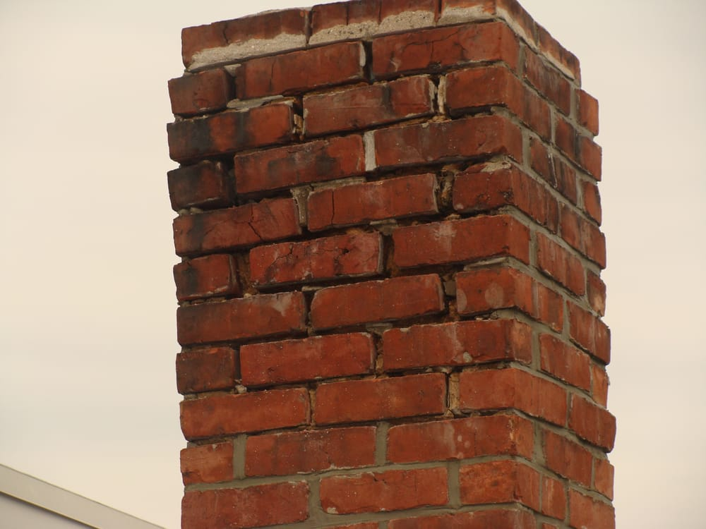 Brickwork, repointing of mortar joints, chimney repairs and