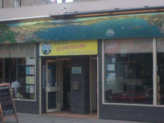 Partenope Edinburgh Restaurants
