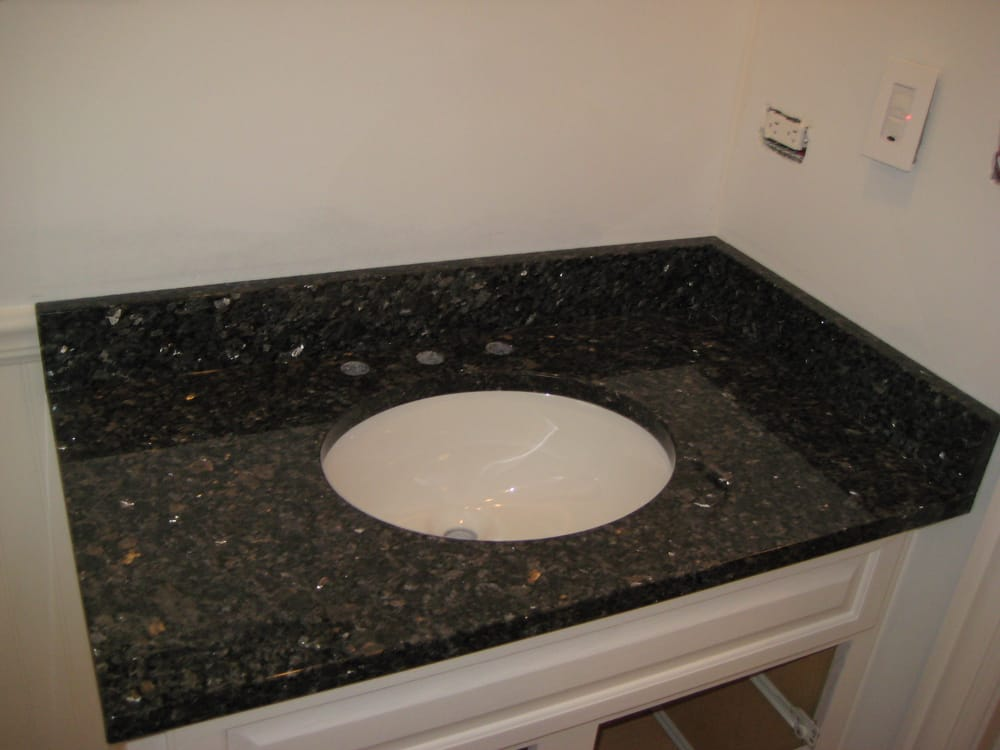 Blue Pearl Gt Vanity Top By Art Granite Countertops Yelp