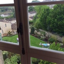 Hostellerie de Plaisance - Saint Emilion, Gironde, France. View from room