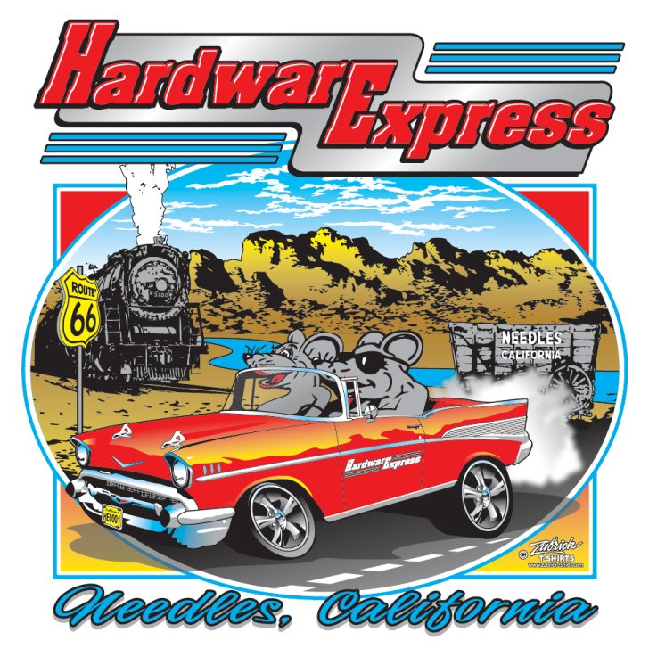 Hardware Express: 419 W Broadway St, Needles, CA
