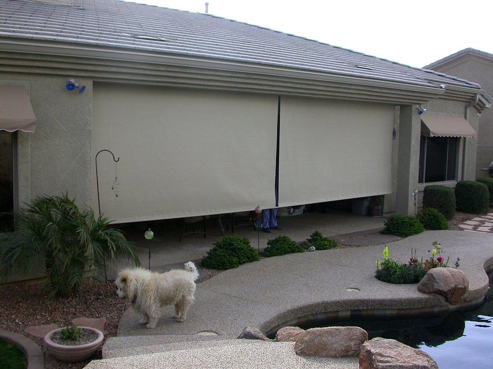 Photo Of Senor Mist   Scottsdale, AZ, United States. Patio Drop Shades!