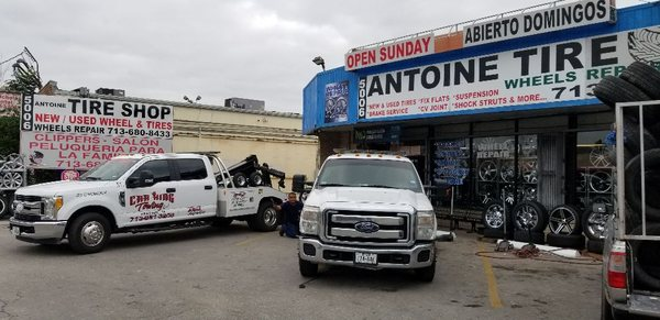 Tire Shops Open On Sunday >> Antoine Tire Shop 5006 Antoine Dr Houston Tx Tire Dealers Mapquest