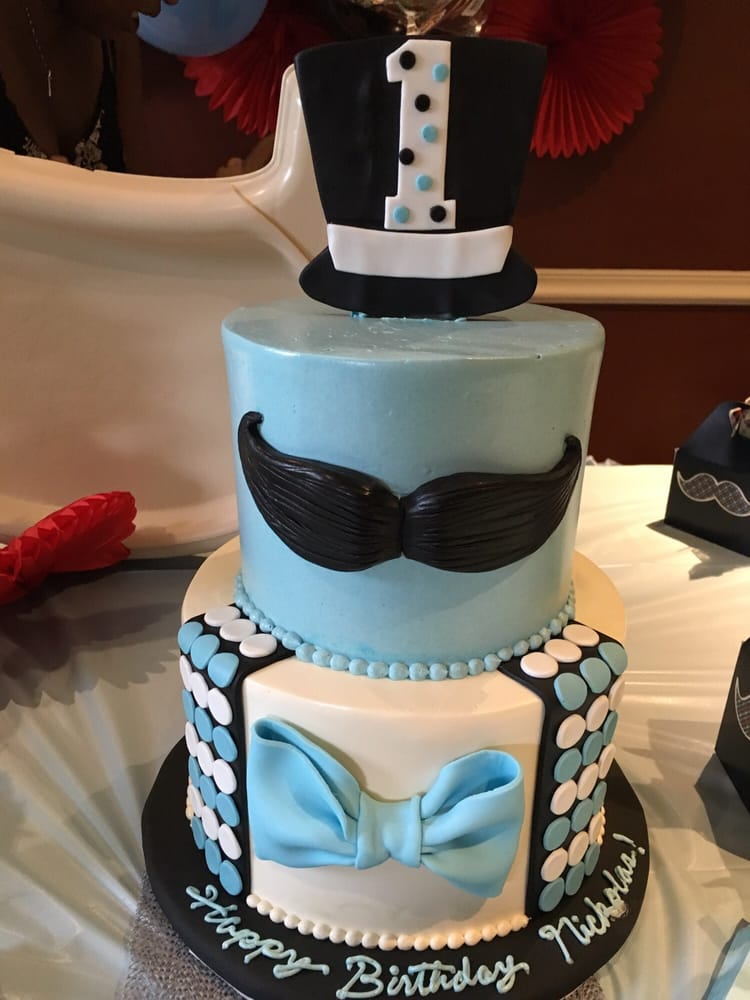 Little Man Birthday Cake For Babys First Yelp