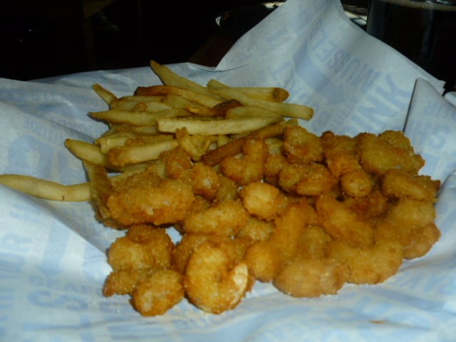 Popcorn Shrimp And Fries