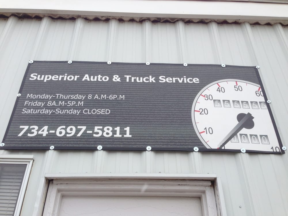 Superior Auto & Truck Service Inc: 307 Davis St, Belleville, MI