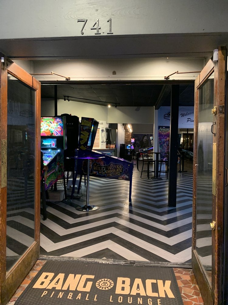 Bang Back Pinball Lounge: 741 Saluda Ave, Columbia, SC