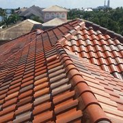 Cleaning Roof Of Photo Of Apple Roof Cleaning   Brandon, FL, United States.  Tile Roof Cleaning ...