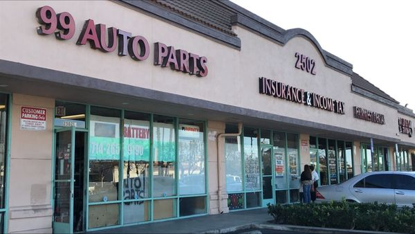 99 Auto Parts 2502 Westminster Ave Santa Ana CA Stores