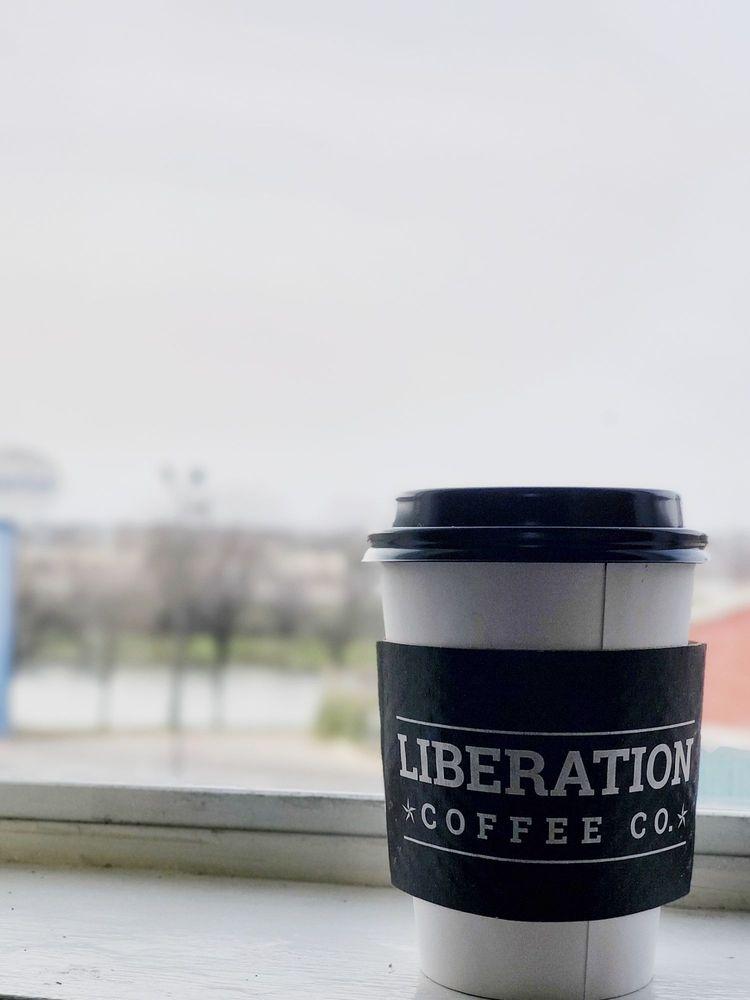 Liberation Coffee Company: 314 S Shady Shores Dr, Lake Dallas, TX