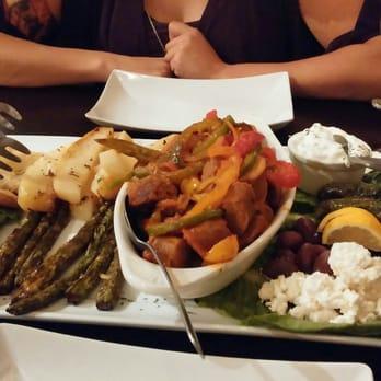 Athenian House Restaurant Santorini Menu