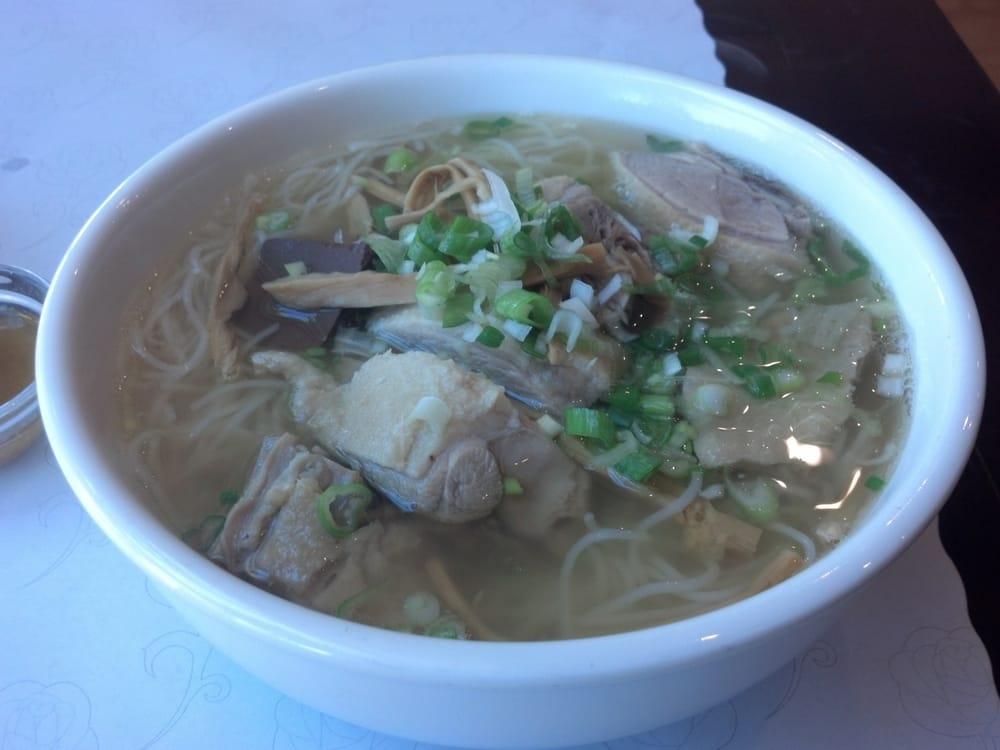 Bun Mang Vit Bamboo Shoot Duck Noodle Soup Yelp