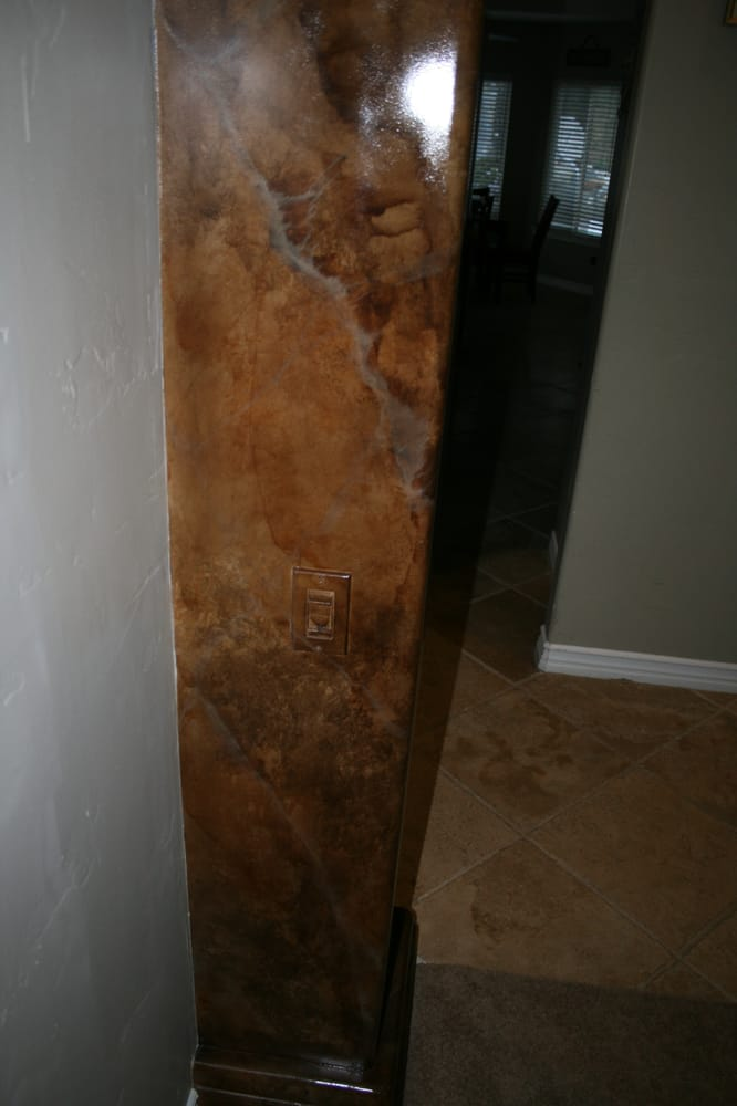 Faux Painted Columns Part - 40: Photo Of Lisa Bryant Faux Finishes - Temecula, CA, United States. Faux  Painted