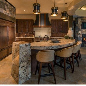 Knotty Alder kitchen cabinets - Yelp