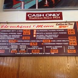 Photos for original pantry cafe menu yelp for Pantry los angeles yelp