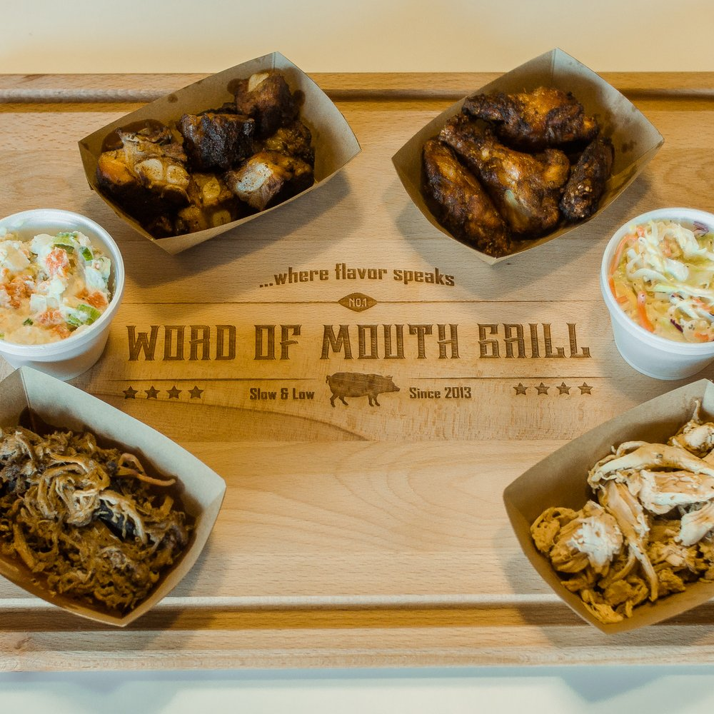 Food from Word Of Mouth Grill