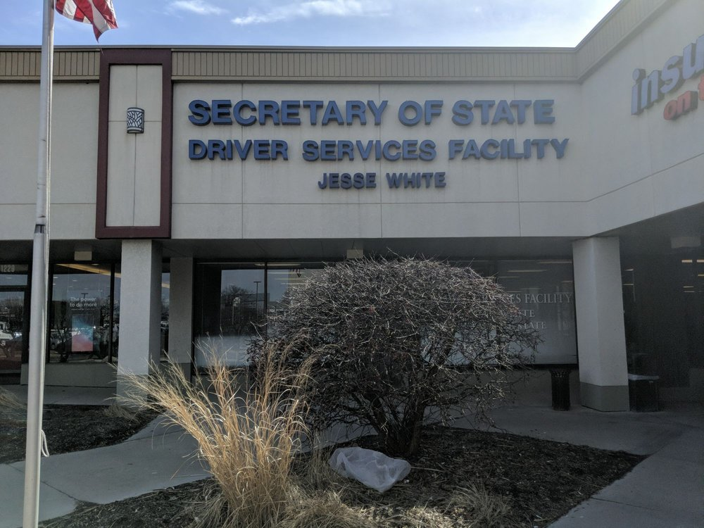 Secretary of State Driver Services Facility: 1227 East Golf Rd, Schaumburg, IL