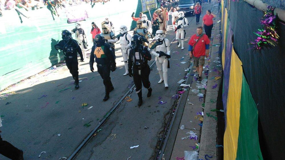 Krewe of Iris Parade